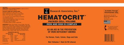 Hematocrit label